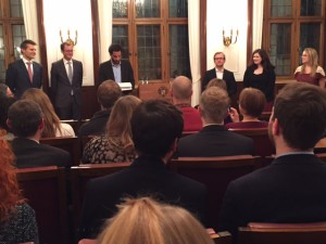 Verleihung des Studienpreises für Mittelstandsforschung in der Handelskammer Bremen 2015